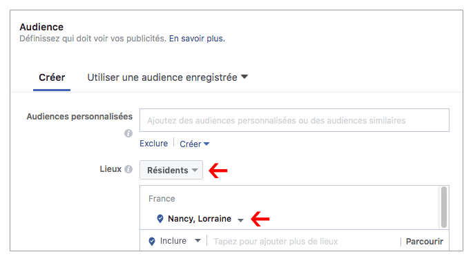 Facebook-annonce-payante-audience-localisee